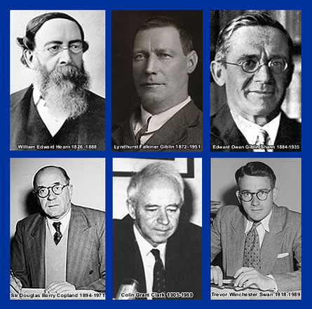 Photo of Economists of note